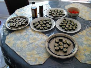 The final product: My Maki Sushi