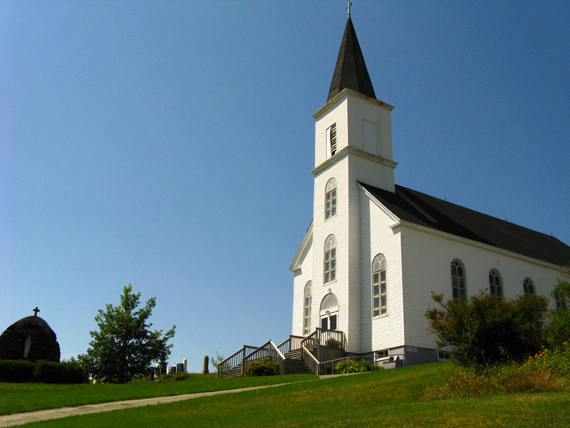 One of Sheet Harbour's Many Churches