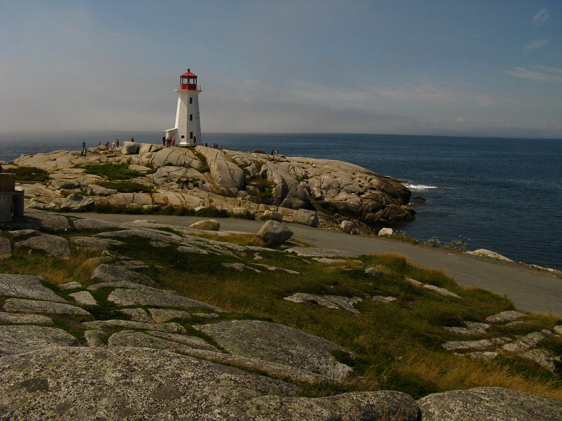 Peggy's Cove's Famous Lighthouse