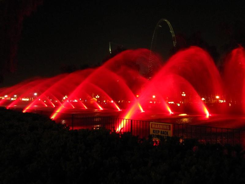 Canada's Wonderland Fountains
