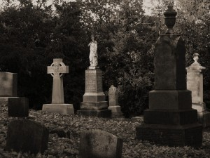 Graves in Small Town Ontario