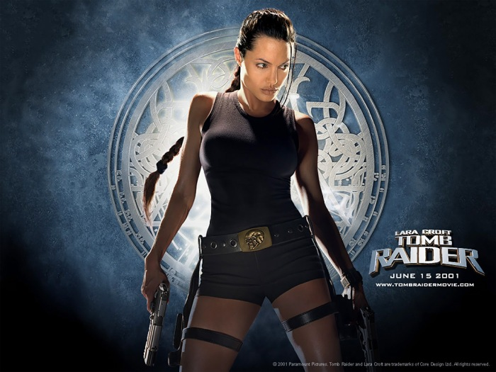 Angelina Jolie as Tomb Raider