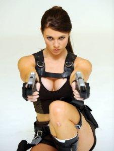 Alison Carroll as Tomb Raider