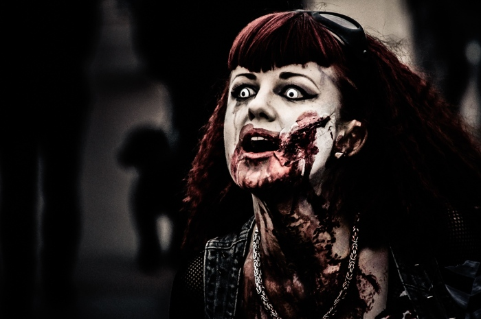 Rock Chick Zombie (Zombie Run UK, Photo: Stevie Gill)
