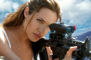 Angelina Jolie as Mrs. Smith