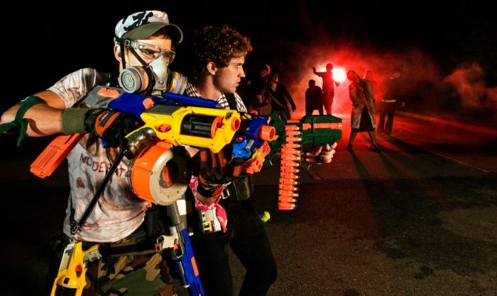 Humans vs. Zombies (Photo credit: http://brittonpeele.com)