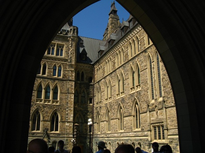 Centre Block Archway