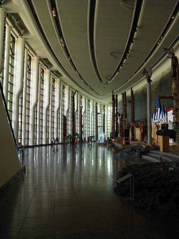 Museum Totem Poles