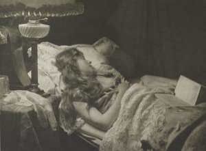 Constant Puyo- Eingeschlafen, 1897