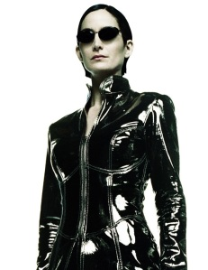 Carrie-Anne Moss is Trinity
