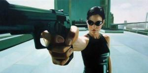Carrie-Anne Moss as Trinity