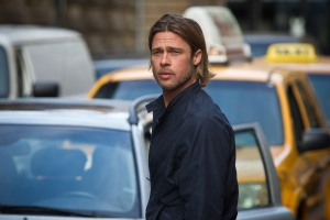 World War Z's Brad Pitt as Gerry Lane