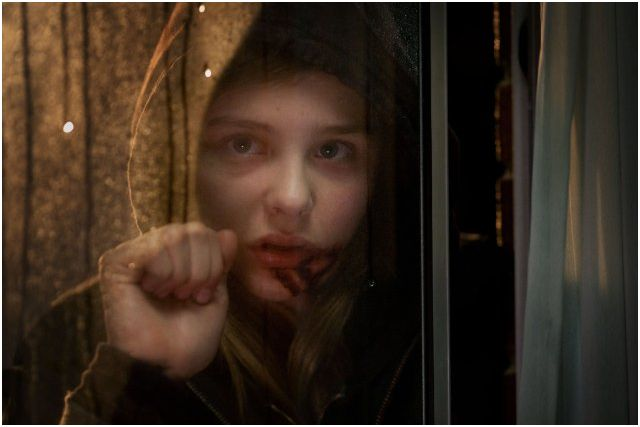 Let Me In's Abby played by Chloë Grace Moretz