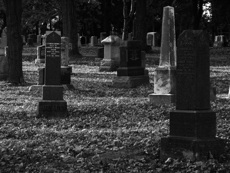 My town's cemetery