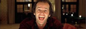 Jack Nicholas in The Shining