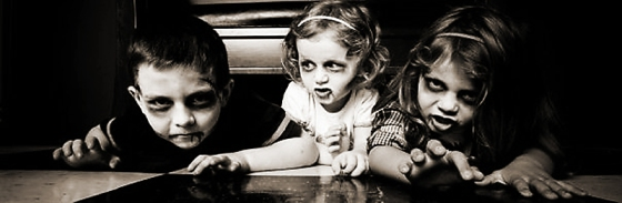 Zombie Kids (Photo credit: Unknown)