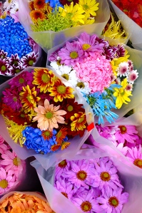 Bouquets of flowers [Photo Credit: In compliance with Wikipedia Common Licensing]