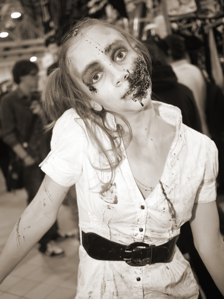 Zombie [Photo Credit: In compliance with Wikipedia Common Licensing]