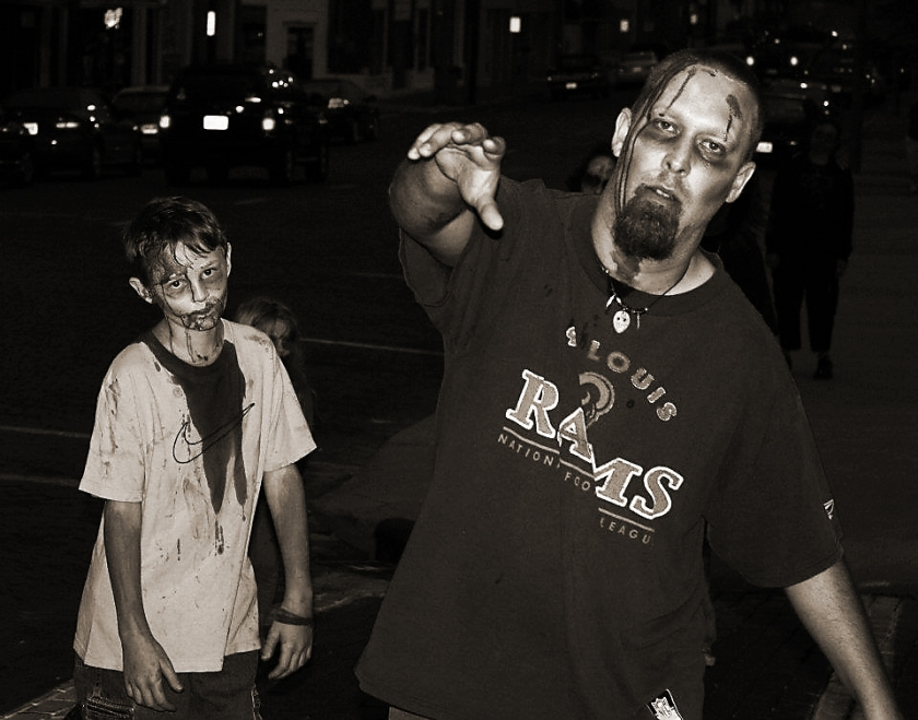 Zombies [Photo Credit: In compliance with Wikipedia Common Licensing]