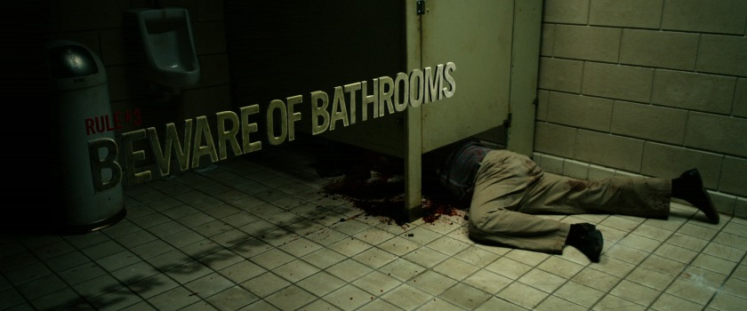 Beware of bathrooms
