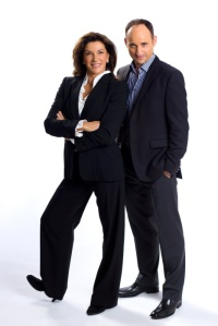 Hilary and David