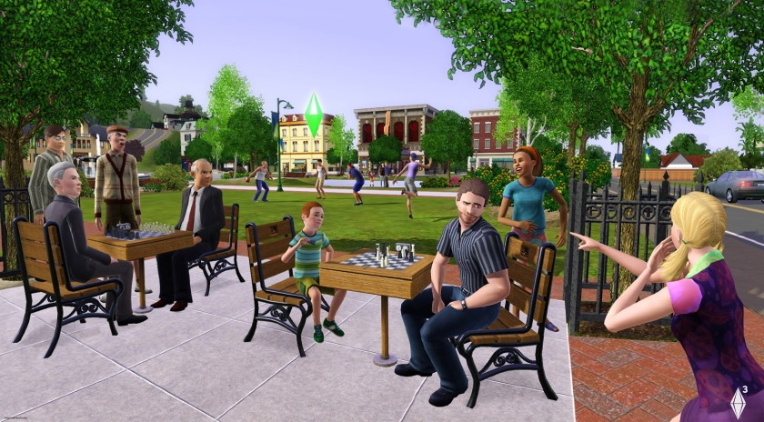 Electronic Arts' The Sims Games