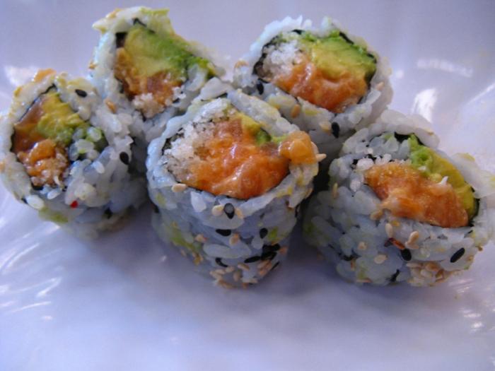 Spicy salmon