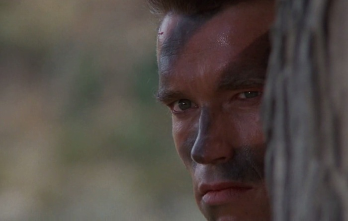 Arnold Schwarzenegger in Commando