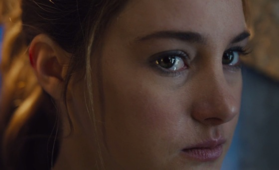 "Shailene Woodley as Beatrice ""Tris"" Prior"