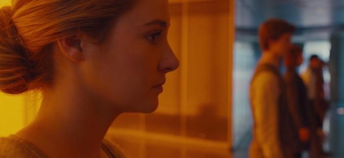 "Shailene Woodley is Beatrice ""Tris"" Prior"