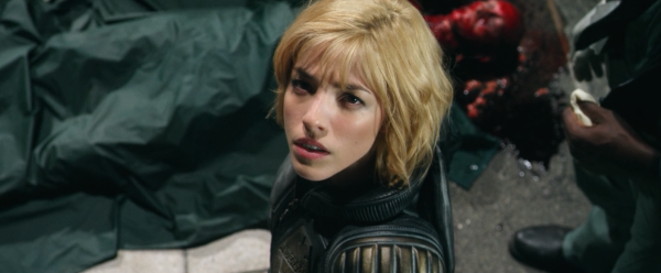 Olivia Thirlby as Dredd's Anderson