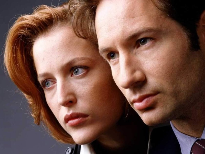 The X-Files' Scully and Mulder