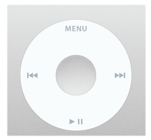The iPod classic click wheel