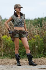 Christian Serratos as Rosita Espinosa
