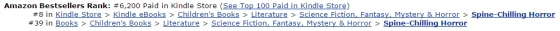 Tracking as an Amazon.ca Top 100 bestseller as at October 31, 2014, 7:08am EST.