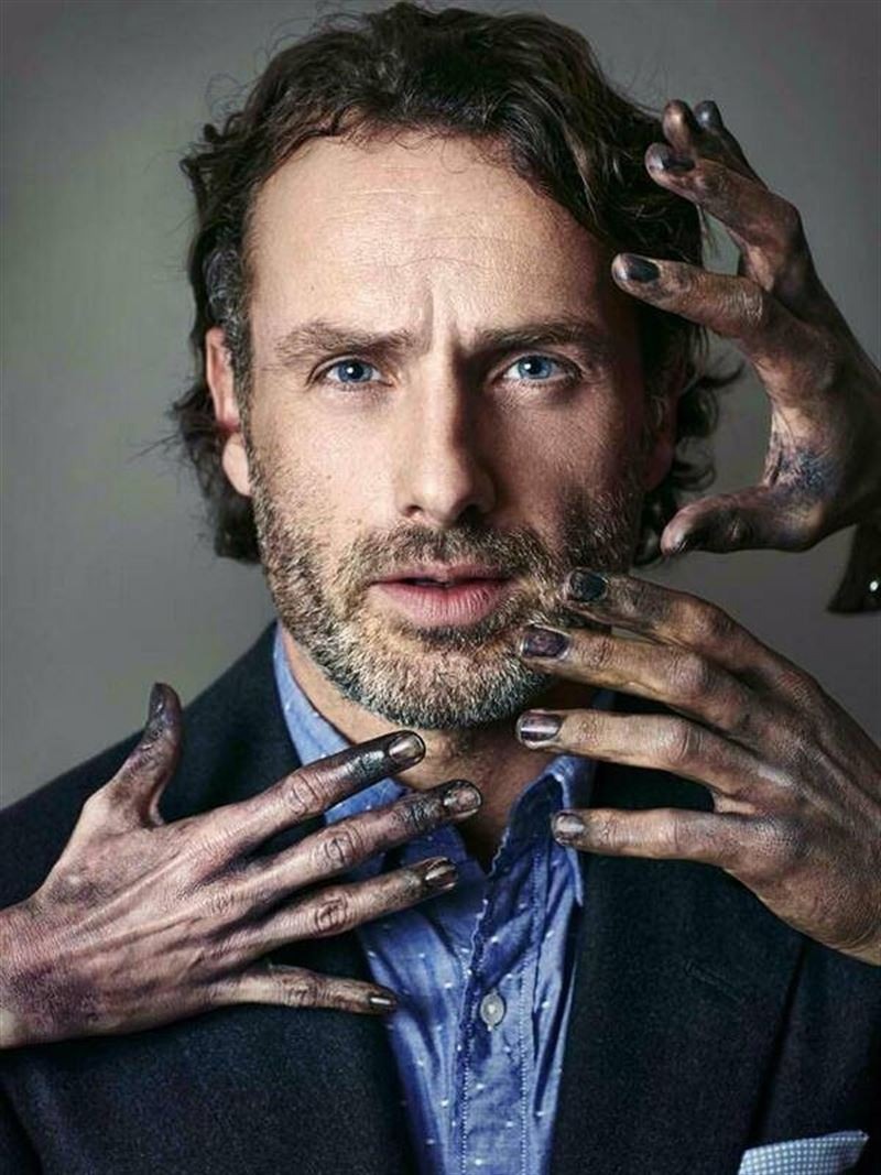 Andrew Lincoln is Rick Grimes