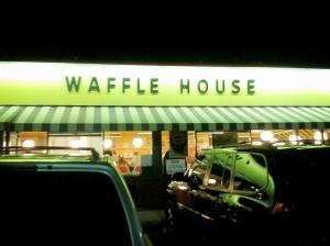 """I was very dissapointed when I found out it wasn't a house made out of waffles."""