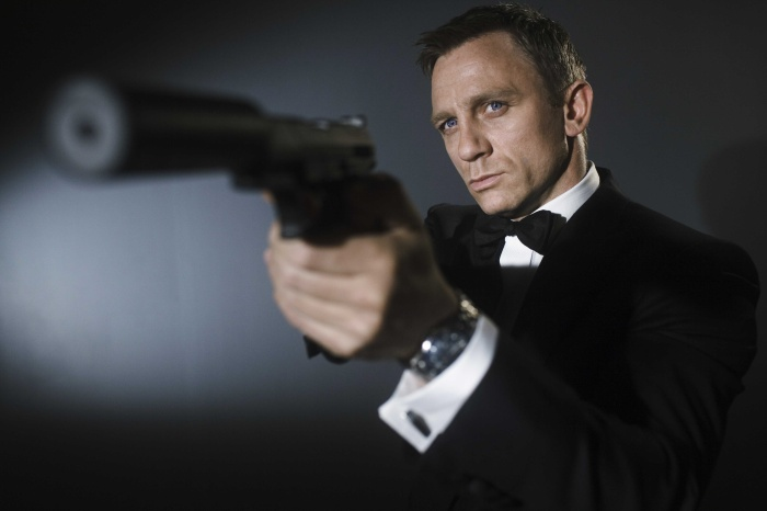 Daniel Craig as Ian Fleming's James Bond 007