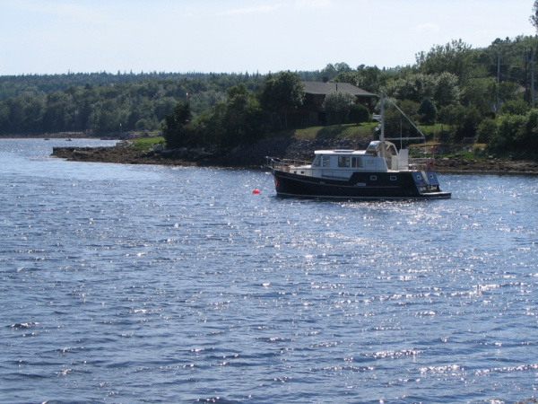 Fishing trawler near Dartmouth