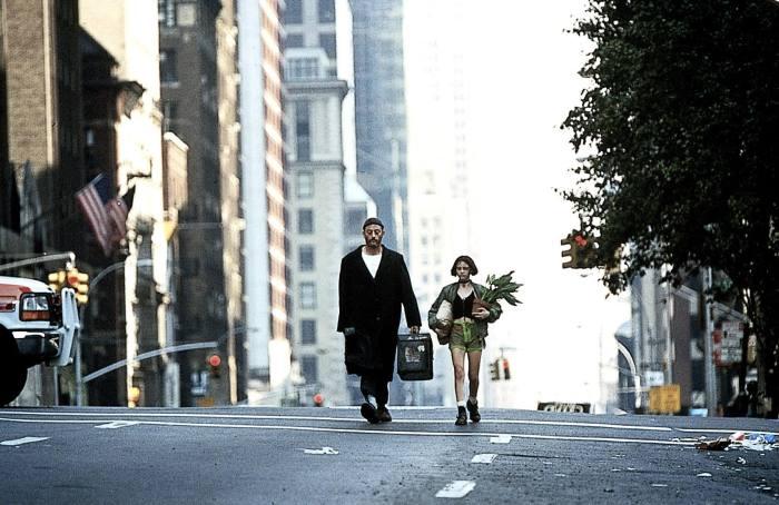 Jean Reno and Natalie Portman in Léon: The Professional