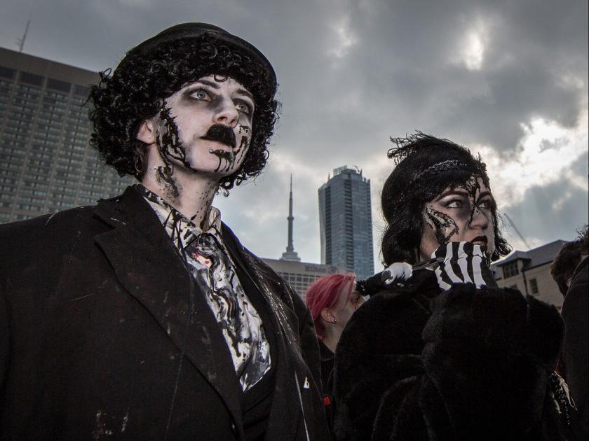 Toronto Zombie Walk 2014 [Photo credit: Igor Baranov, SolarWorksArt.com]