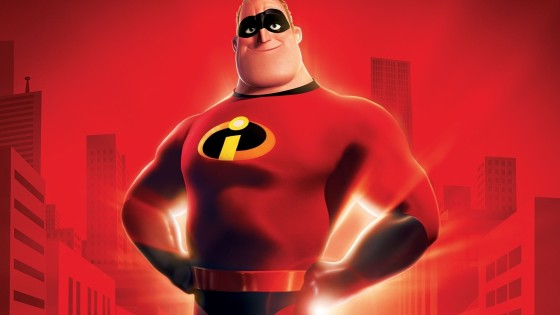 Bob Parr is Mr. Incredible
