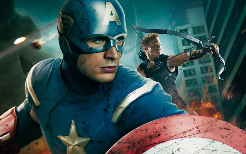 Chris Evans is Captain America