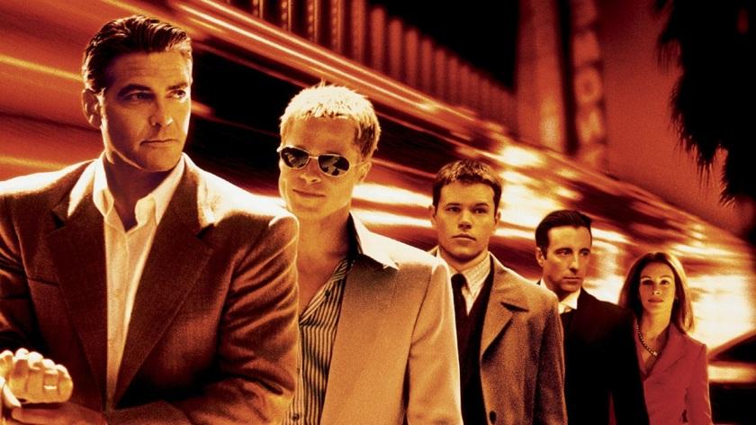 George Clooney, Brad Pitt, Matt Damon, Andy Garcia and Julia Roberts