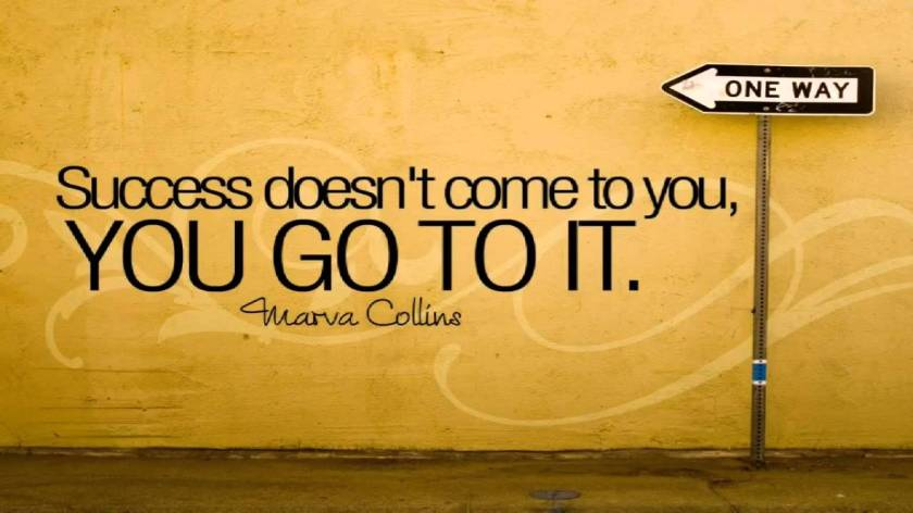 Success Quote by Marva Collins