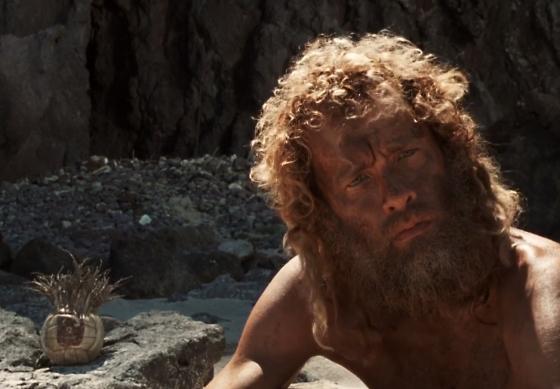 Tom Hanks as Chuck Noland