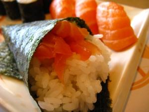 Salmon Sushi Combo