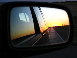 Sunset driving