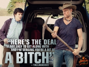 Jesse Eisenberg and Woody Harrelson