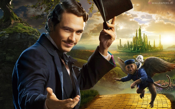 James Franco as Oz